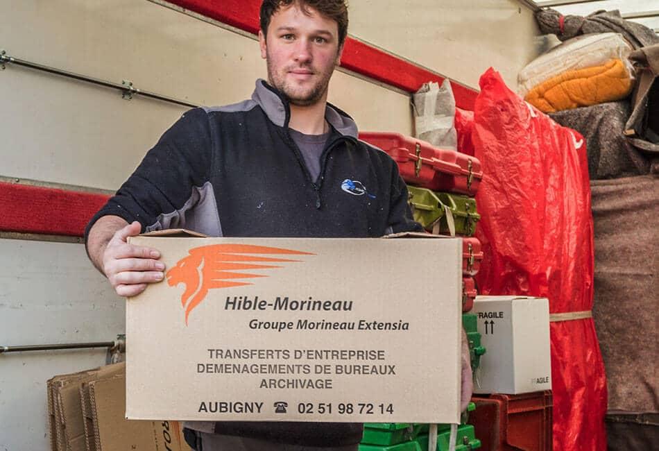 Hible Morineau Kits de déménagement