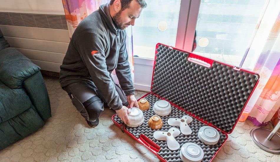 Hible Morineau Transport d'objets fragiles